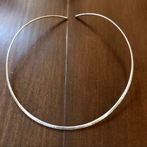 James Avery Hammered Silver Collar